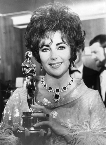 Elizabeth Taylor won the Oscar for Who's Afraid of Virginia Woolf? in 1967.