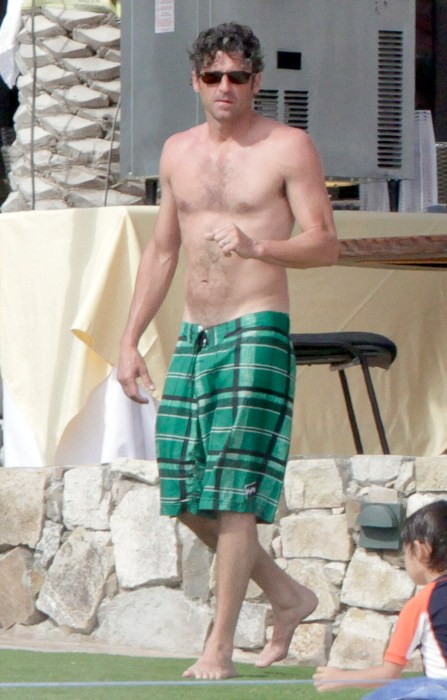 'Grey's Anatomy' star Patrick Dempsey in Cabo.