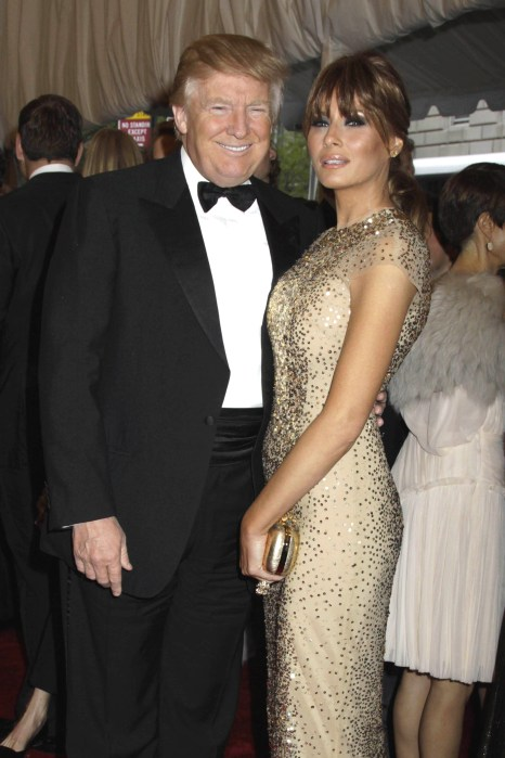 Donald and Melania Trump