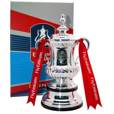 Emirates FA Cup Replica Trophy - NFM