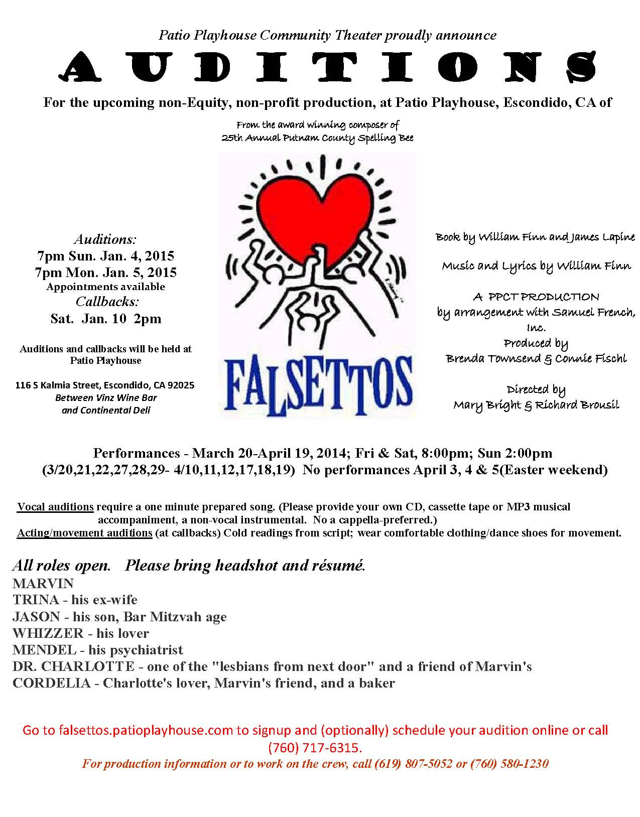 Patio_audition Notice Falsettos