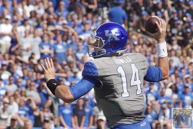 Kentucky Football Week 5 Depth Chart