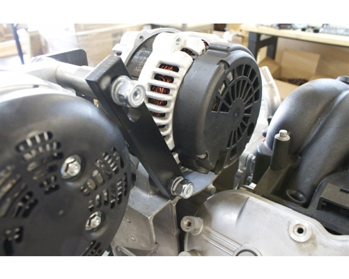 Sbc Wiring Diagram Chevy And Gm Vortec High Amp Dual Alternator Bracket Kit