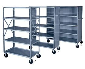 Mobile Shelf Carts Truck Shelves Nationwide Industrial