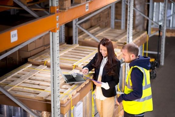 Nationwide Storage - female warehouse manager