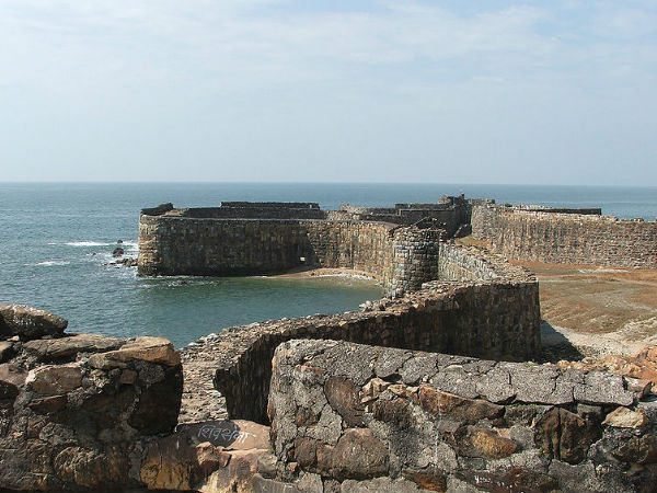 Shivaji Maharaj Hd Wallpaper For Pc Sindhudurg Fort In Maharashtra A Place For History