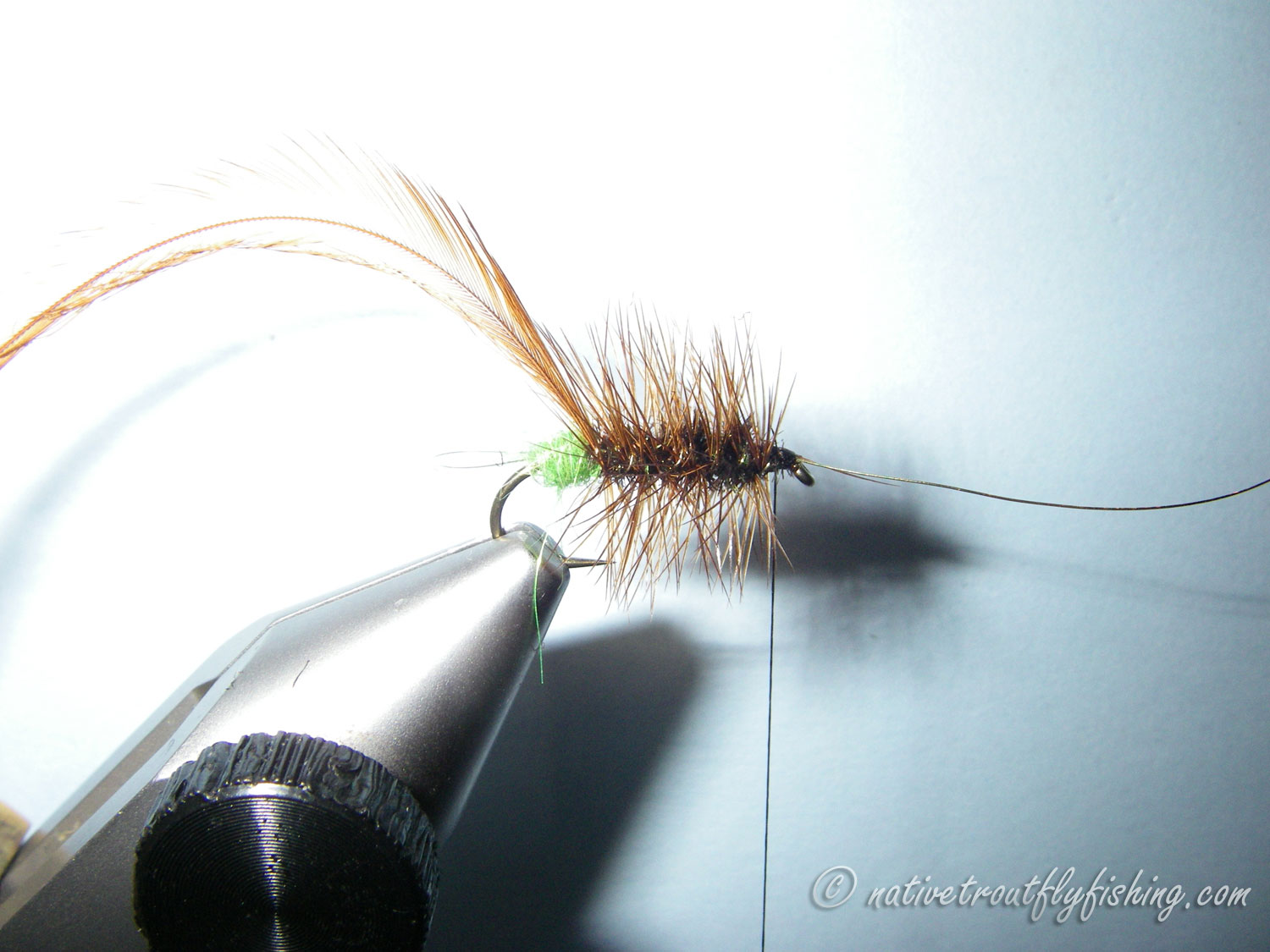 The Hackle To Form The Rib And Tie It Off Behind The Eye This Will