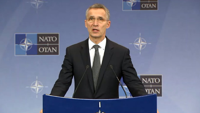 NATO - Press conference by NATO Secretary General Jens Stoltenberg