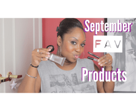 September Favorite Products