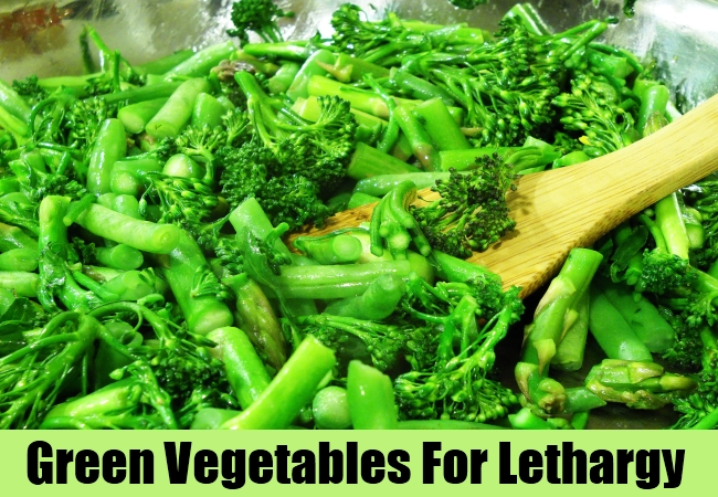 Green Vegetables For Lethargy