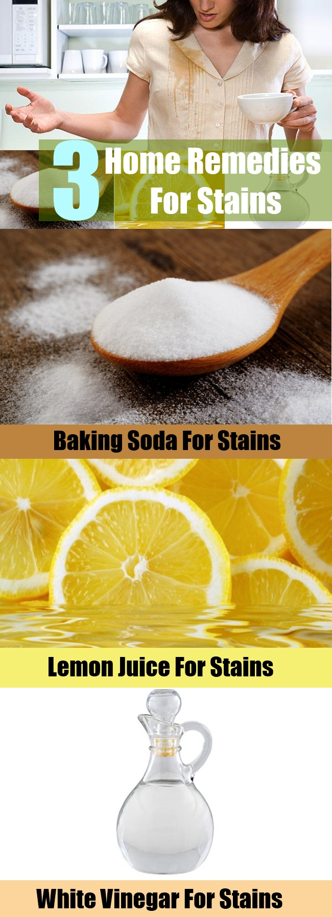How To Get Rid Of Stains In White Clothes Home Remedies
