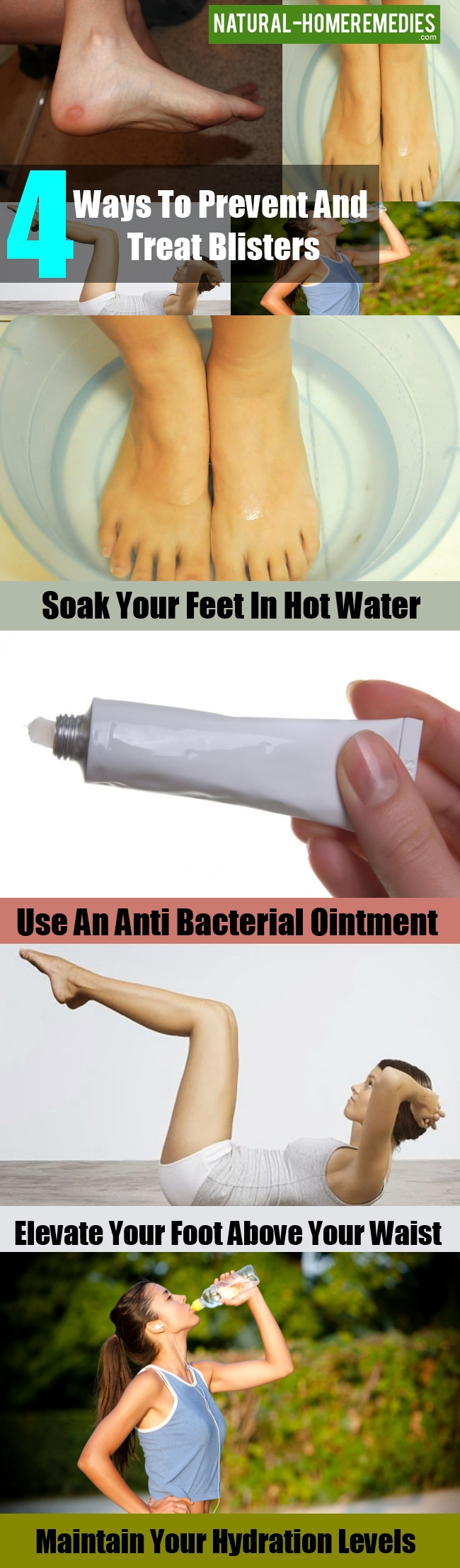 Natural Ways To Heal Foot Blisters