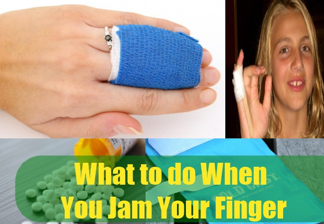 What to do When you Jam Your Finger
