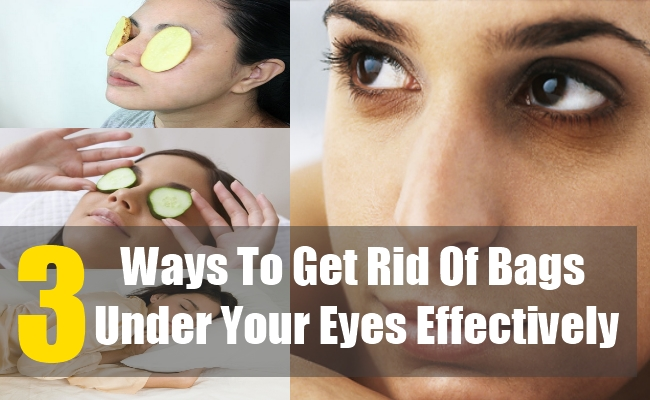 3 Ways To Get Rid Of Bags Under Your Eyes Effectively