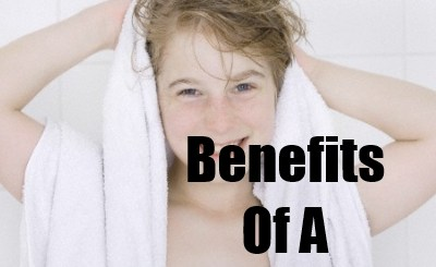 benefits of hot shower