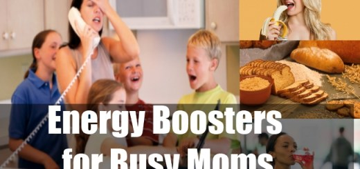 Energy Boosters for Busy Moms