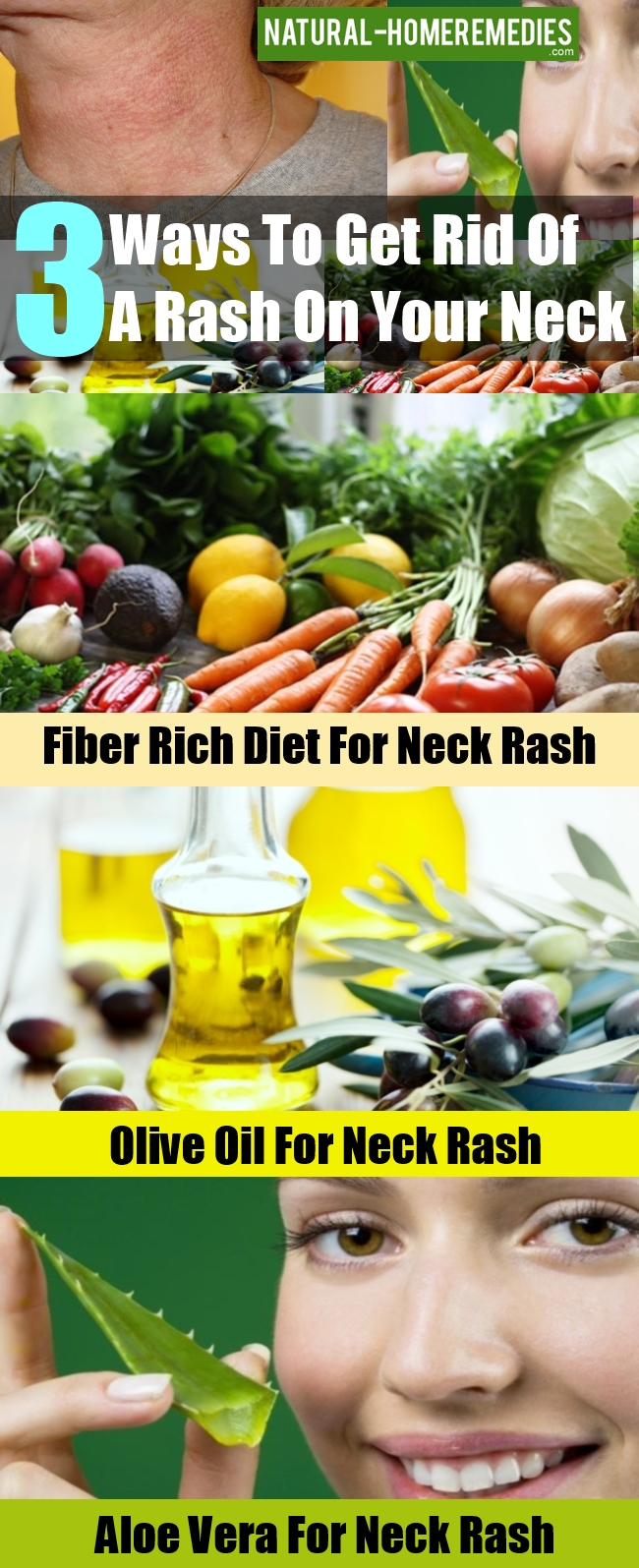 Ways To Get Rid Of A Rash On Your Neck