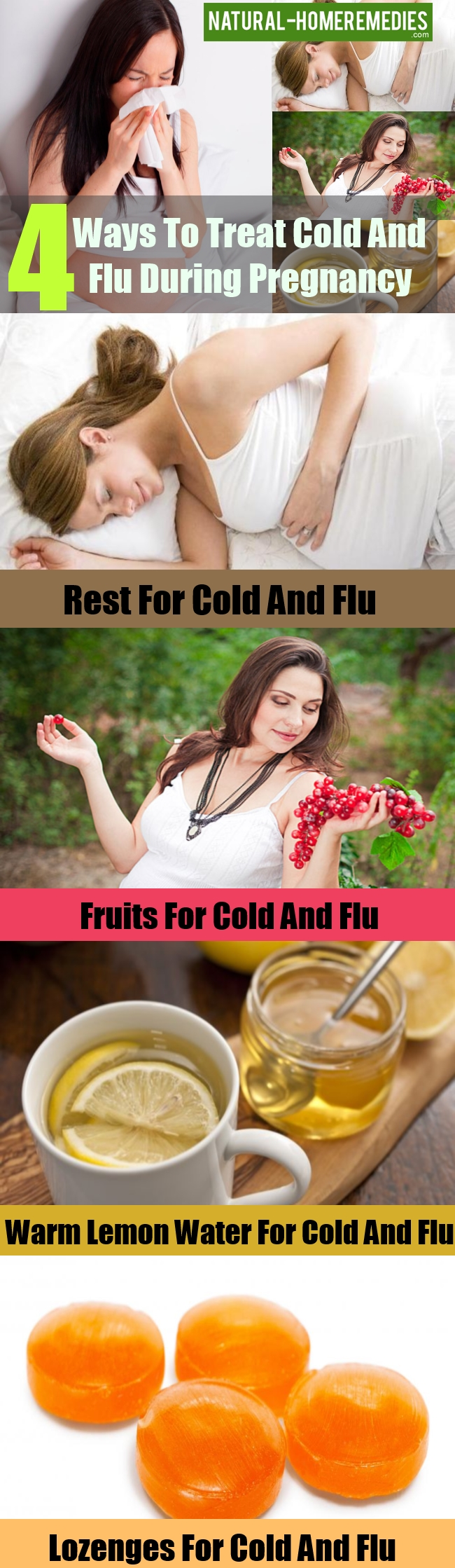 Ways To Treat Cold And Flu During Pregnancy