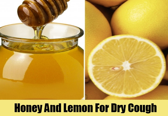 Honey And Lemon For Dry Cough