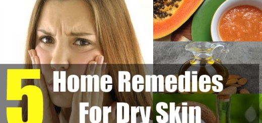 5 Home Remedies For Dry Skin
