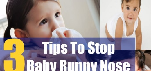 3 Tips To Stop Baby Runny Nose