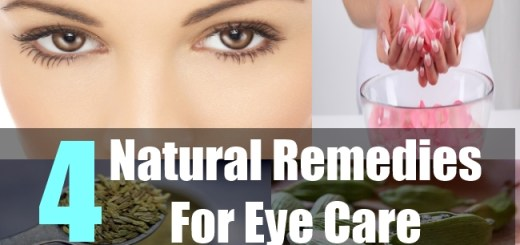 4 Natural Remedies For Eye Care