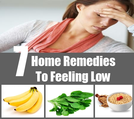 Home Remedies To Feeling Low