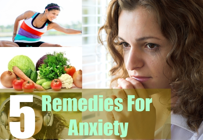 how to get rid of my anxiety naturally