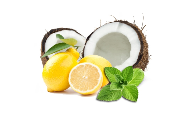 Coconut Oil And Lemon