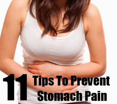 how to stop stomach pain