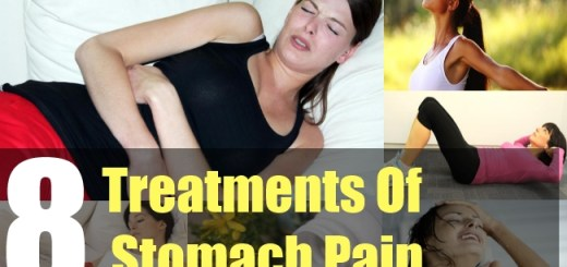 8 Treatments Of Stomach Pain