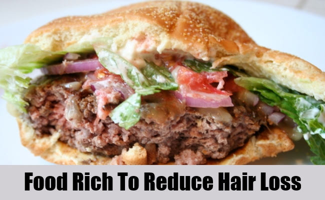 Food Rich To Reduce Hair Loss