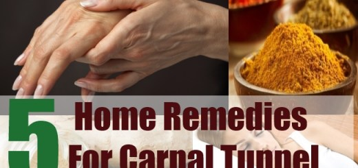 5 Home Remedies For Carpal Tunnel