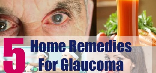 5 Home Remedies For Glaucoma