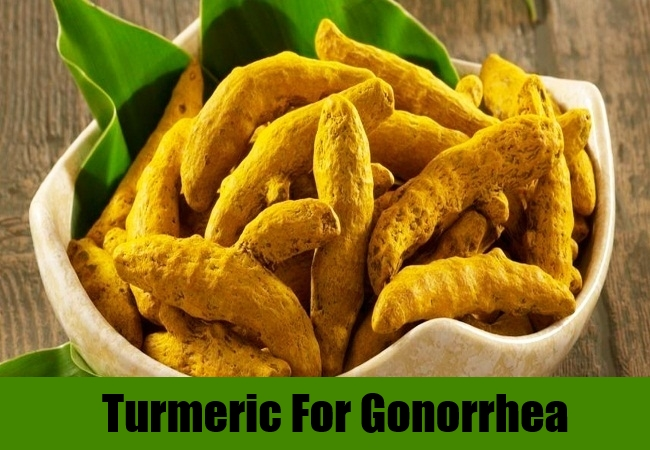 Turmeric For Gonorrhea