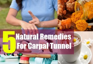 5 Natural Remedies For Carpal Tunnel