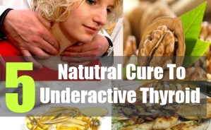 5  Natutral Cure To Underactive Thyroid