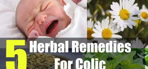 5 Herbal Remedies For Colic