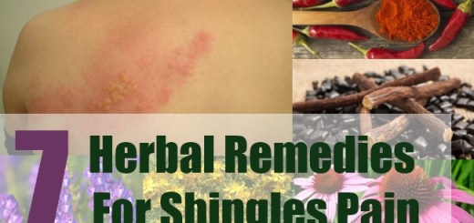 7 Herbal Remedies For Shingles Pain