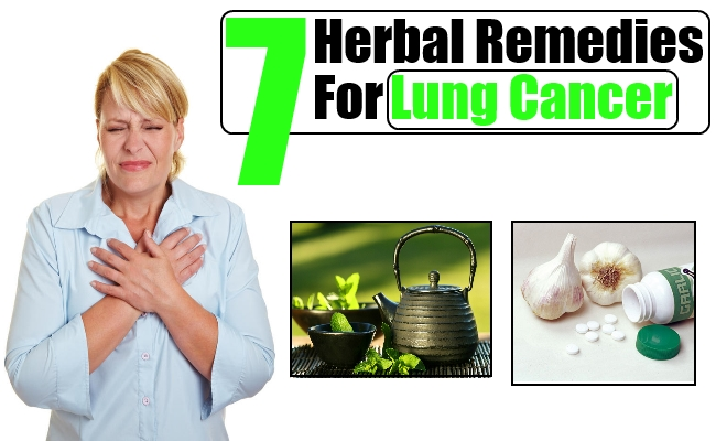 Effective Herbal Remedies For Lung Cancer Types Of