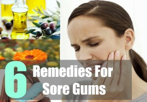 6 Remedies For Sore Gums