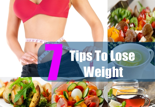 7 Tips To Lose Weight