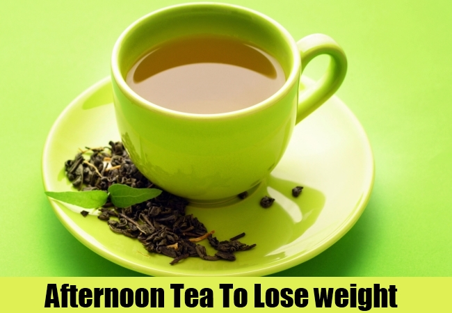 Afternoon Tea To Lose weight