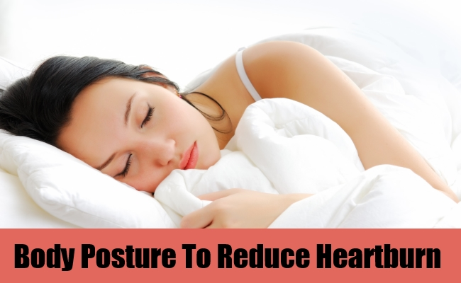 Body Posture To Reduce Heartburn