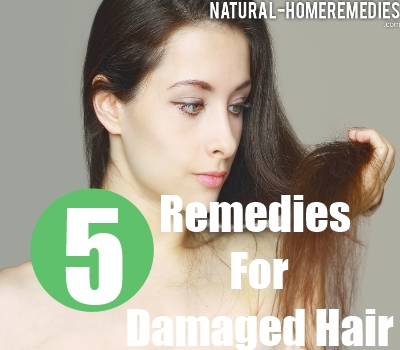 top 5 home reme s for damaged hair natural treatment