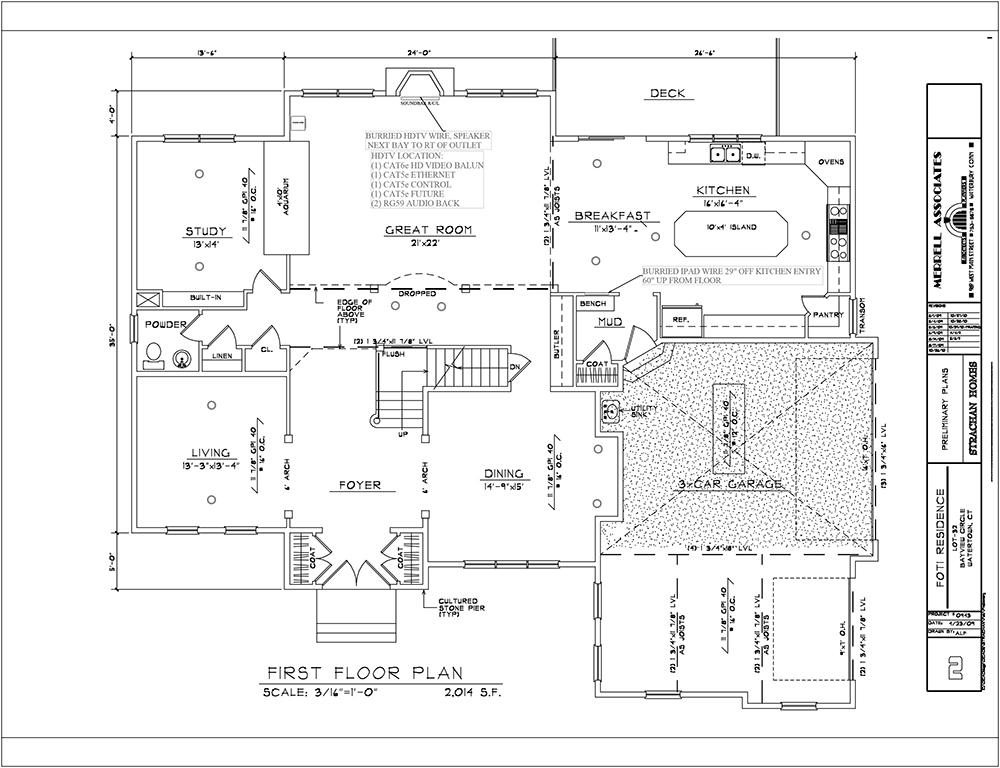 PRE WIRING FOR HOME AUTOMATION - Auto Electrical Wiring Diagram