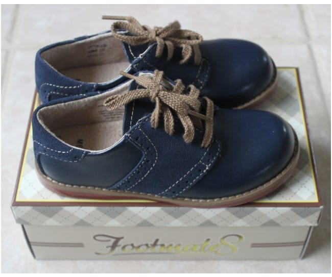 Royal Blue Footmates Coonor Toddler Dress Shoes \u2014 Good Enough for