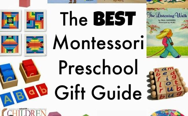 The Best Montessori Preschool Gift Guide Natural Beach