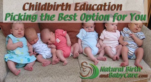 Banner for Childbirth Education Article