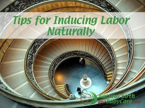 Inducing labor naturally banner